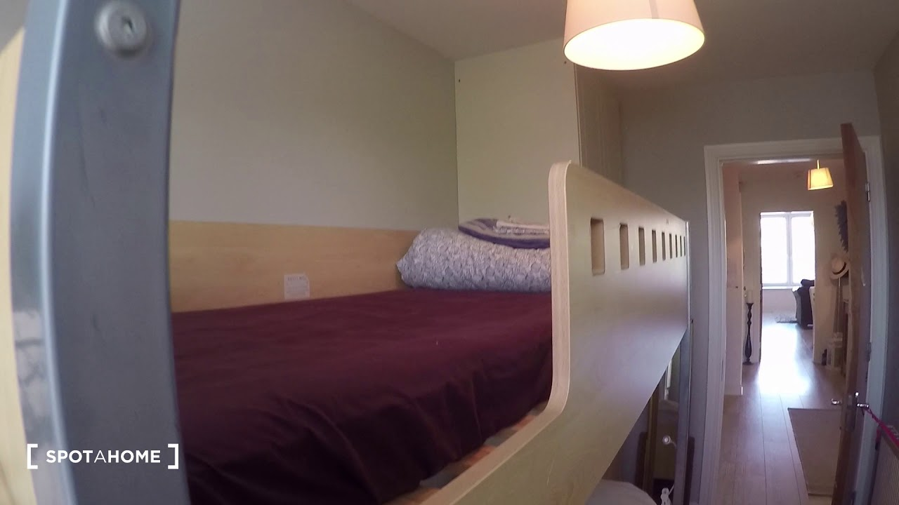 Twin Beds in Rooms for rent in 4-bedroom apartment in Malahide