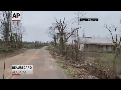 23 dead and dozens more missing after massive tornado sweeps through a rural Alabama county; the deadliest U.S. tornado in nearly six years left behind splintered lumber and twisted metal where homes once stood