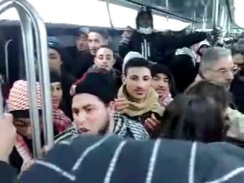 סרטון שצולם באוטובוס בצרפת