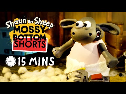 Download Mossy Bottom Shorts - Episodes 01-15 (Shaun the Sheep) HD Mp4 3GP Video and MP3