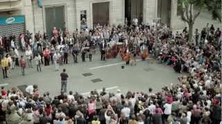 Download Youtube: Flashmob Flash Mob - Ode an die Freude ( Ode to Joy ) Beethoven Symphony No.9 classical music