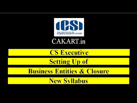 Setting up of Business Entities and Closure by CS Divay Miglani (Hindi)