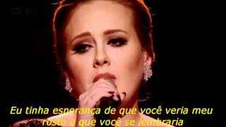 ADELE - Someone Like You (Legendado)