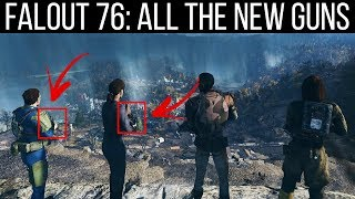 Every New Weapon Coming in Fallout 76