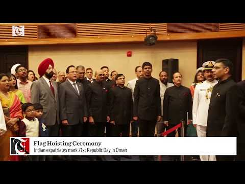 Watch: Indian expatriates mark 71st Republic Day in Oman