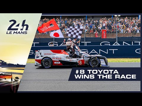 🏆 24 Heures du Mans - #8 Toyota wins the race for the second time! 🏆
