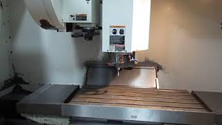 Fadal Model VMC 4020HT CNC 4-Axis with Fanuc 18i Control, Rotary Table, Twin Arm Tool Changer
