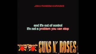 Guns N' Roses   Garden Of Eden [Karaoke]