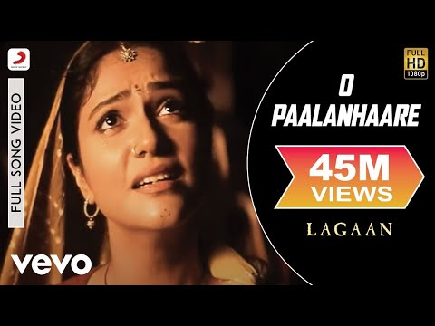 A.R. Rahman - O Paalanhaare Best Video|Lagaan|Aamir Khan|Lata Mangeshkar|Udit Narayan
