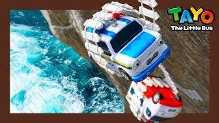 Lưu Pat xe cảnh sát và Alice xe cứu thương l Tayo Xe hạng nặng Đội 2 l Tayo xe buýt nhỏ