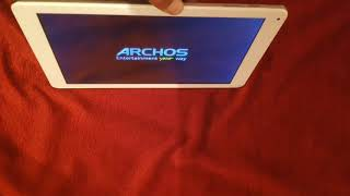 How to reset tablet Archos