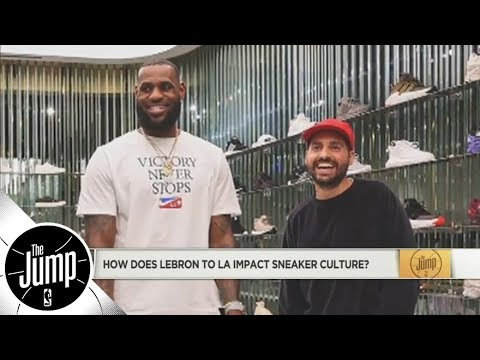 f6e7192266bd What LeBron James to Lakers means for the shoe industry (and more NBA shoe  talk)