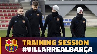 Return to training to prepare the visit to Villarreal