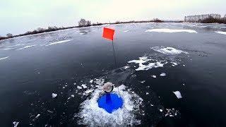 Рыбалка в зимнее время на флажки