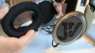 Sennheiser HD595 - Ear Pad Replacement - Diy Fix