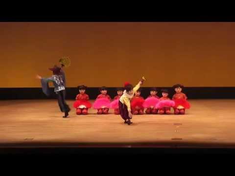 オランダ万才・ぶらぶら節 長崎北保育園日本舞踊教室 長崎県子ども伝統芸能大会 20141123 143328