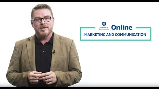 Study Marketing And Communication On Demand With UniSA Online