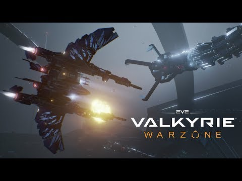 EVE: Valkyrie - Warzone Launch Trailer | Cross-platform for PC and PS4 thumbnail