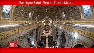 Pape François - Basilique Saint-Pierre - Sainte Messe 2018-12-12