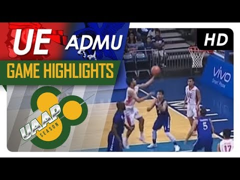 UE vs. ADMU | Game Highlights | UAAP 80 Men's Basketball | September 24, 2017