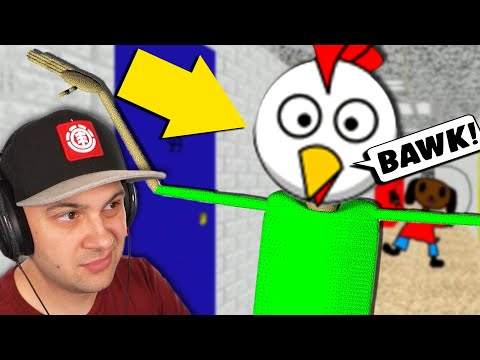 YEP! Baldi's a chicken... | Baldi's Basics