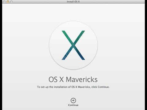 Comment installer os x mavericks ? La réponse est sur