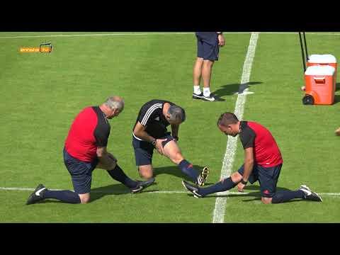 Testspiel gegen FC Everton
