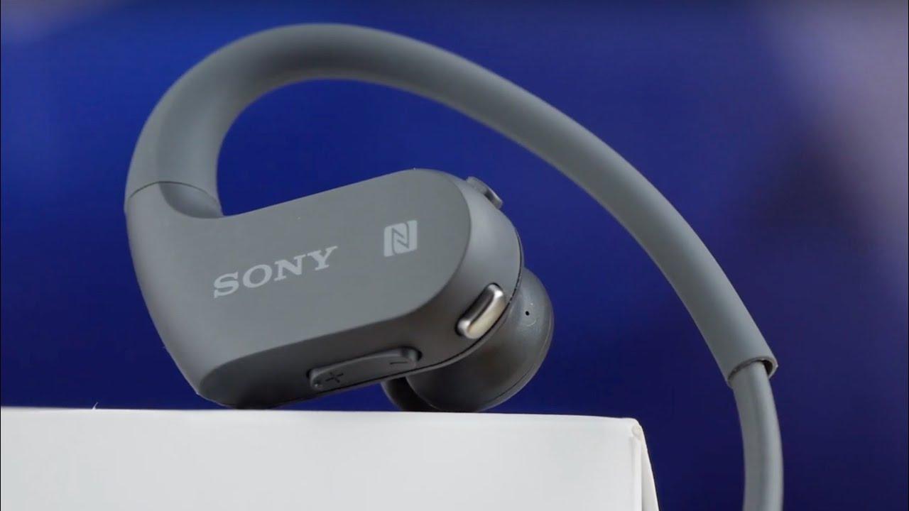 Плеер-наушники Sony NW-WS414 (Black) video preview