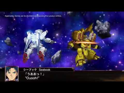 PS4, PS Vita | Super Robot Wars X – First Announcement PV