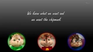 Come get it by Alvin and The Chipmunks Ft. Rebecca Jones- Lyrics