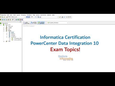 02 Exam topics! Informatica PowerCenter Specialist Certification ...