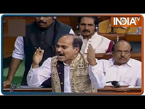 Aaj Ki Baat: Adhir Ranjan Chowdhury shut down for raising Gandhi family's SPG issue in Lok Sabha