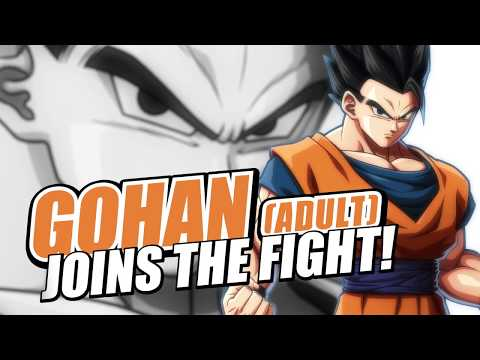 Dragon Ball FighterZ: Gohan (Adult) | Character Trailer thumbnail