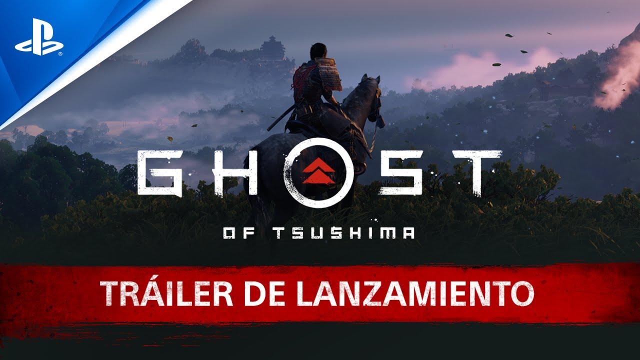 Disfruta del espectacular tráiler de lanzamiento de Ghost of Tsushima