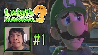 Luigi's Mansion 3 | Part 1 [Let's Play] Playthrough, The MOST Memorable Vacation (The Last Resort)