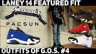 MENS STREETWEAR | AIR JORDAN 14 LANEY FEATURED FIT!!! (OUTFITS OF G.O.S #4 / OUTFIT OF THE DAY)