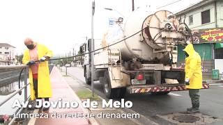 Mais de 660 toneladas de resíduos são retiradas da rede drenagem em Santos