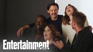 Entertainment Weekly | 'This Is Us' Cover Shoot [Octobre 2016]
