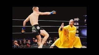 Shaolin monk vs MMA! Who is he?