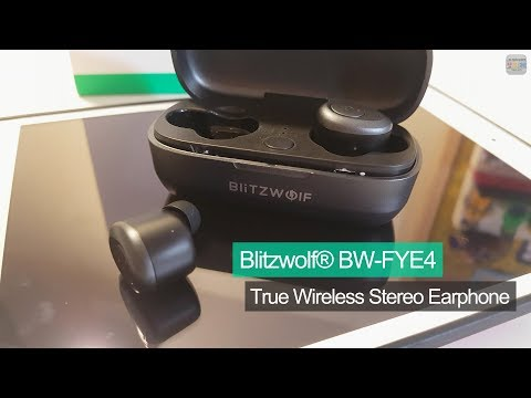 Review Blitzwolf BW-FYE4 True Wireless Stereo Earphone With Charging Box - from banggood