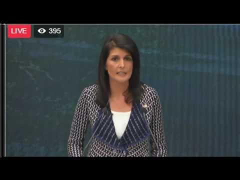 Ambassador Haley Remarks at the Graduate Institute of Geneva - 6/6/17