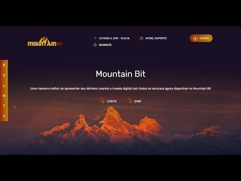 SAIU!!! VEJA NOVO SITE ( MountainBIT ) QUE PROMETE 11% AO DIA  FOREVER !!!