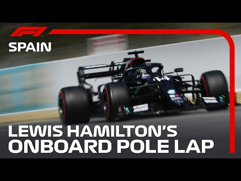 F1 2020 第6戦スペインGP(カタルニアサーキット)ポールポジションを獲得したルイス・ハミルトンのオンボード映像