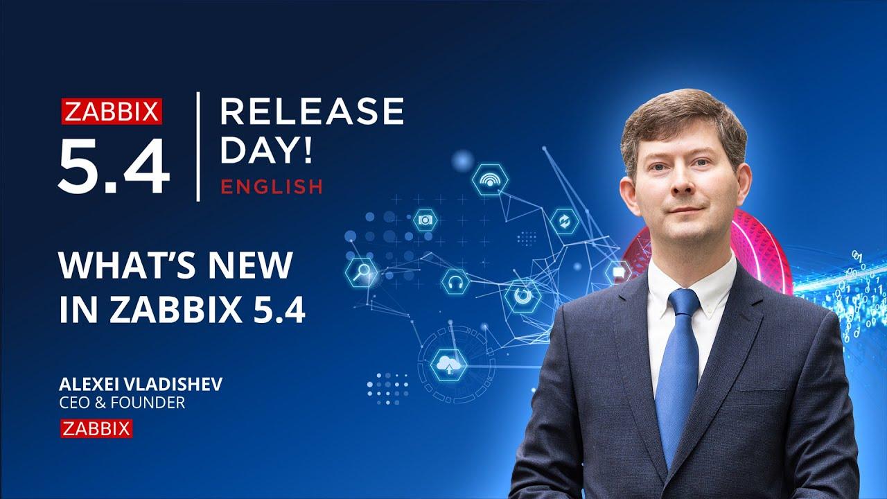 What's new in Zabbix 5.4