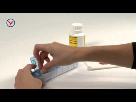 Tablettendose, Woche 7 - Praktische Aufbewahrungshilfe