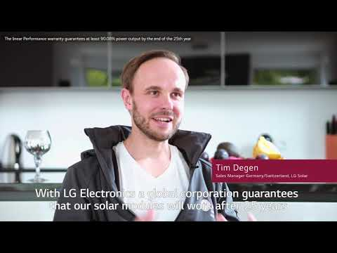 LG Solar Story. More power in less space - Renchen, Germany