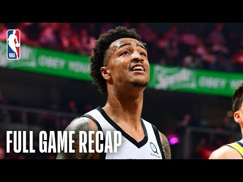 PACERS vs HAWKS | John Collins Drops 20pts & 25reb In Wild Ending | April 102019