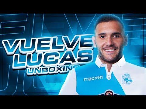 VUELVE LUCAS !! UNBOXING CAMISETA DEPORTIVO CORUÑA 2017-2018
