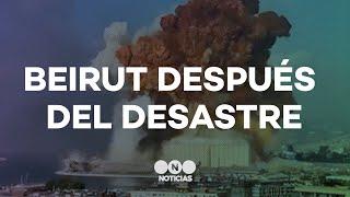TRAGEDIA en BEIRUT: los detalles de la explosión que sacudió a la capital del Líbano - Telefe