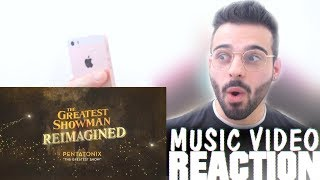 Pentatonix - The Greatest Show (Official Lyric Video) Reaction
